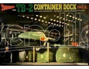 Imex IM1207 TB-2 CONTAINER DOCKTHUNDERBIRDS KIT 1:350 Modellino