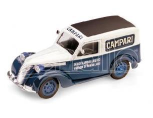 Brumm BM0245 FIAT 1100 E FURGONE CAMPARI STABILIMENTO ROMA 1952 1:43 Modellino
