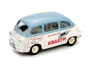 Brumm BM0383B FIAT 600 MULTIPLA ZURIGO 1960 PUBBLICITA' ABARTH 1:43 Modellino