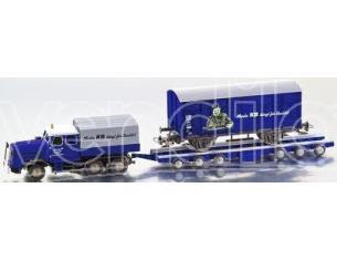 Bub 07005 KAEBLE KDV con Culemeyer Trasporto vagoni ferroviari 1/87 Modellino