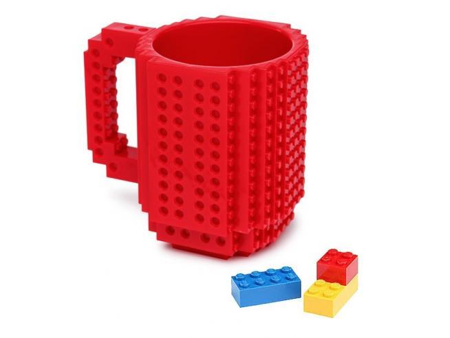 Lego Rossa Build On Brick Tazza Thinkgeek