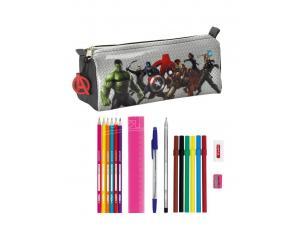Astuccio Portapenne Scuola Avengers Age Of Ultron 17 Piece Astuccio 20 Cm