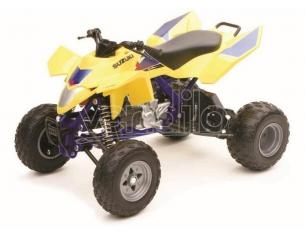 New Ray NY42833S SUZUKI QUADRACER R450 GIALLO JAPAN 1:12 Pz.12 Moto