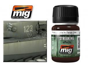 AMMO BY MIG JIMENEZ STREAKING GRIME PANZER GREY A.MIG-1202 COLORI