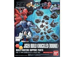 BANDAI MODEL KIT HGBC JIGEN BUILD KNUCKLES ROUND 1/144 MODEL KIT