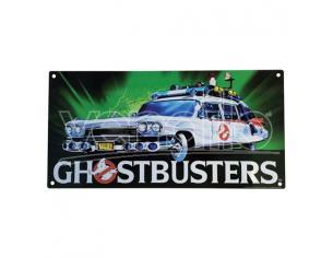 Ghostbustoers Ecto 1 Poster Sign in Metallo Factory Entertaiment