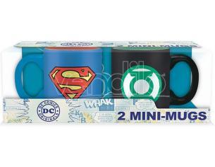 Set 2 Mini Tazze Dc-superman&green Lant. Tazza - Gadget