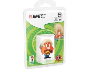 EMTEC USB KEY 8GB L.TUNES YOSEMITE 3D CHIAVETTE - MEMORIE
