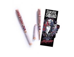 Penna Segnalibro Mazza Da Baseball Harley Queen Suicide Squad Noble Collection