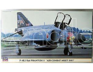 HASEGAWA 00888 F-4EJ KAI PHANTOM II AIR COMBAT MEET 2007 1:72 KIT Modellino