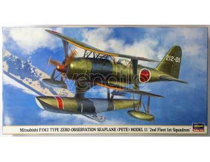 HASEGAWA 09895 MITSUBISHI F1M2 2ND FLEET 1ST SQUADRON 1:48 KIT Modellino