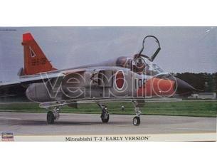 HASEGAWA 09819 MITSUBISHI T-2 EARLY VERSION 1:48 KIT Modellino
