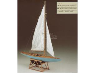 Corel SM53 Yacth Formula Regata Nave in legno Kit 1:25 Modellino