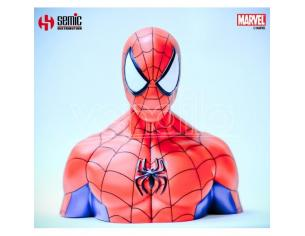 Spider-man Salvadanaio Busto Spider-man Deluxe Uomo Ragno Semic