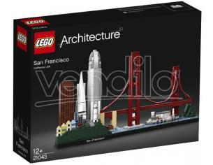 LEGO ARCHITECTURE 21043 - SET COSTRUZIONI SAN FRANCISCO