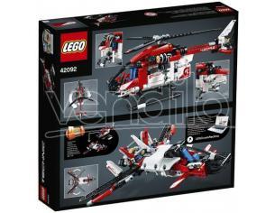 LEGO TECHNIC 42092 - ELICOTTERO DI SALVATAGGIO