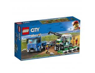 LEGO CITY POLIZIA 60223 - TRASPORTATORE DI MIETITREBBIA