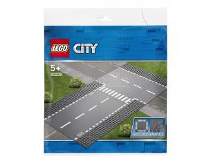 LEGO CITY POLIZIA 60236 - RETTILINEO E INCROCIO A T
