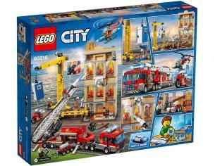LEGO CITY FIRE 60216 - MISSIONE ANTINCENDIO IN CITTA'