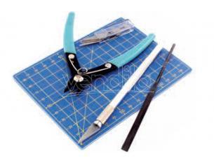 Vallejo Plastica Modelling Tool Set - 9 Pezzi Accessori Per Modellismo VALLEJO