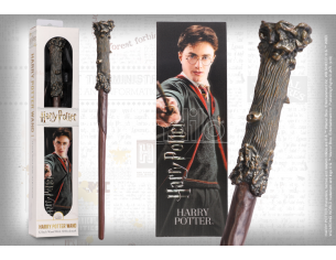 Harry Potter Bacchetta Magica Pvc 30 Cm Con Segnalibro Noble Collection