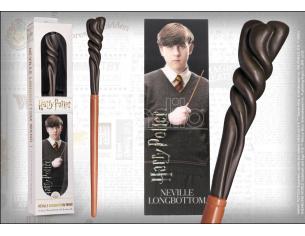 Harry Potter Bacchetta Magica Pvc Neville Paciock 30 Cm Con Segnalibro Noble