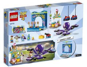 LEGO JUNIORS 10770 - TOY STORY 4: BUZZ E WOODY E LA MANIA DEL CARNEVALE