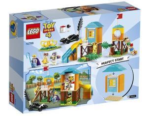 LEGO JUNIORS 10768 - TOY STORY 4: AVVENTURA AL PARCO GIOCHI DI BUZZ E BO PEEP