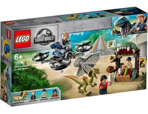 LEGO JURASSIC WORLD 75934 - DILOFOSAURO IN FUGA