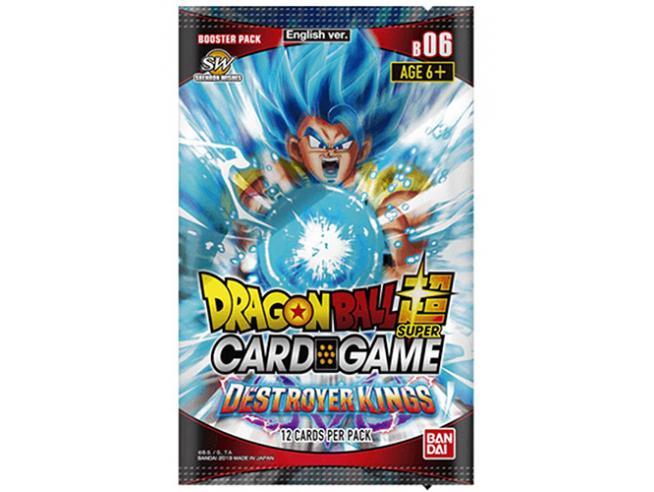 Dragon Ball Destroyer Kings Bustoe Set 06 - Carte Da Gioco/collezione