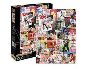 Aquarius Ent Elvis One-sheets Collage 1000  Pezzi Puzzle Puzzle