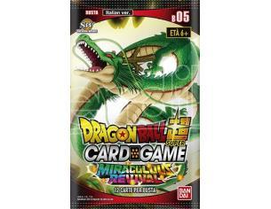 Dragon Ball Super Cardgame Bustoe Pack 5 - Carte Da Gioco/collezione
