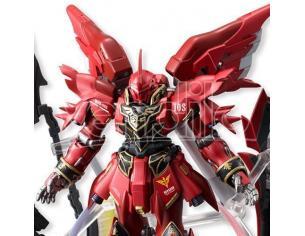 Gundam Msn-06s Sinanju Fw Fusion Works 13cm Action Figura Bandai