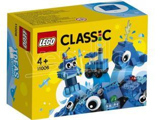 LEGO CLASSIC 11006 - SET MATTONCINI BLU CREATIVI