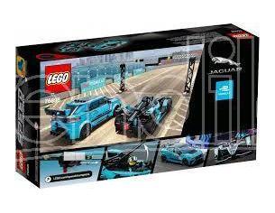 LEGO SPEED 76898 - FORMULA E JAGUAR RACING GEN2 E JAGUAR I-PACE ETROPHY