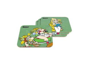 Sd Toys Asterix Legionary 6 Sottobicchieri Set Sottobicchieri