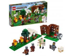 LEGO MINECRAFT 21159 - L'AVAMPOSTO DEL SACCHEGGIATORE