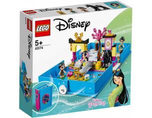 LEGO DISNEY PRINCESS 43174 - IL LIBRO DELLE FIABE DI MULAN