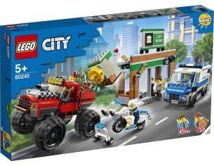 LEGO CITY POLIZIA 60245 - RAPINA SUL MONSTER TRUCK