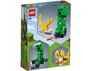 LEGO MINECRAFT 21156 - MAXI-FIGURE CREEPER E GATTOPARDO