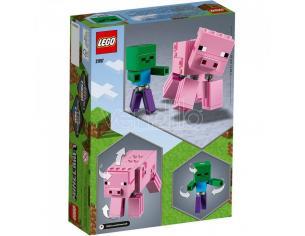 LEGO MINECRAFT 21157 - MAXI-FIGURE MAIALE E BABY ZOMBI
