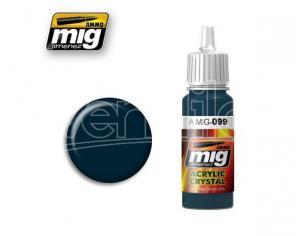 Ammo By Mig Jimenez Cristallo Black Blue 0099 Colori