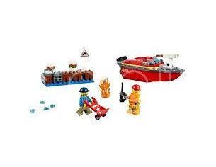 LEGO CITY FIRE 60213 - INCENDIO AL PORTO