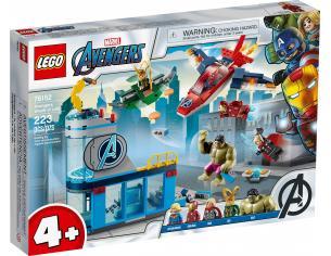 LEGO MARVEL 76152 - L'IRA DI LOKI DEGLI AVENGERS
