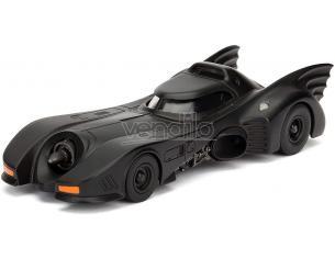 Batman Batmobile 1989 Die Cast 1:32 Funzionamento a Ruota Libera Jada Toys