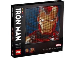 LEGO ART 31199 - IRON MAN - MARVEL STUDIOS