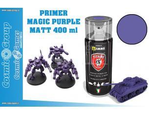 TITANS HOBBY MAGIC PURPLE MATT PRIMER - 400ML SPRAY COLORI