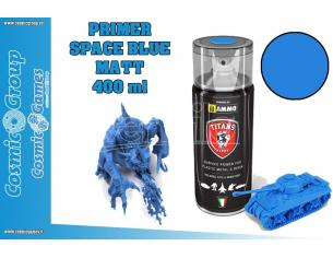 TITANS HOBBY SPACE BLUE MATT PRIMER - 400ML SPRAY COLORI