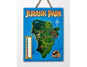 Doctor Da Collezionejurassic Park In Legno Map Poster Poster