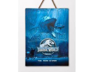 Doctor Da Collezionejurassic World Mossa In Legno Poster Poster